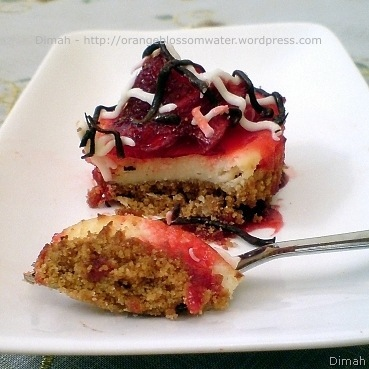 Dimah - http://orangeblossomwater.net - Cheesecake with Oreo Crust, and Mini Cheesecake 8