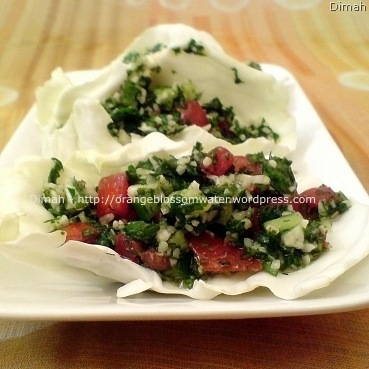 Dimah - http://www.orangeblossomwater.net - Tabbouleh 90