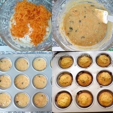 Dimah - http://www.orangeblossomwater.net - Carrot Cupcakes 3