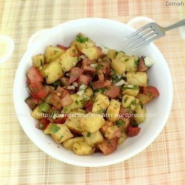 Dimah - http://www.orangeblossomwater.net - Potato Salad 2