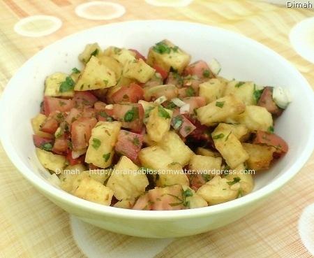 Dimah - http://www.orangeblossomwater.net - Potato Salad 3