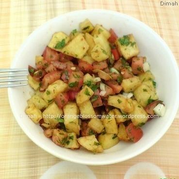 Dimah - http://www.orangeblossomwater.net - Potato Salad 4