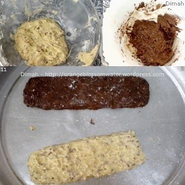 Dimah - http://www.orangeblossomwater.net - Vanilla and Cocoa, Pecan Biscotti 3