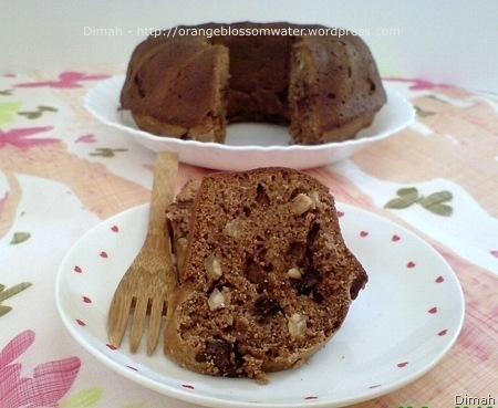 Dimah - http://www.orangeblossomwater.net - Eggless Cake 7
