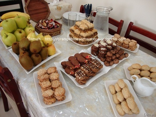 Dimah - http://www.orangeblossomwater.net - Eid Al-Fitr, Sweets 1