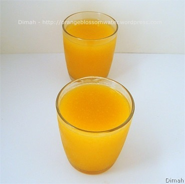 Dimah - http://www.orangeblossomwater.net - Qamar Ad-Deen Drink 3