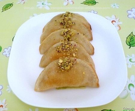 Qatayef is a special dessert  Qatayef