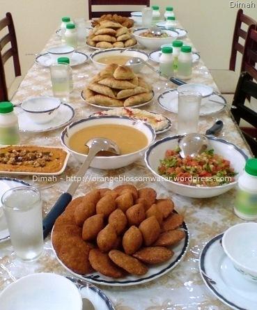 Dimah - http://orangeblossomwater.net - Ramadan Iftar 1