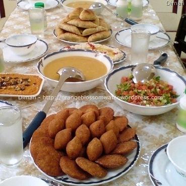 Dimah - http://orangeblossomwater.net - Ramadan, Iftar 2