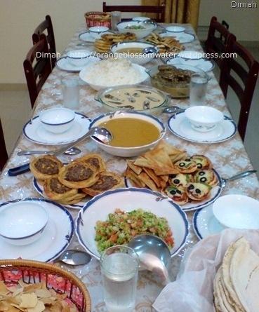 Dimah - http://orangeblossomwater.net - Ramadan, Iftar 4