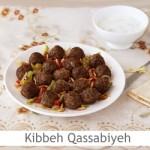 Dimah - http://www.orangeblossomwater.net - Kibbeh Qassabiyeh