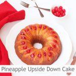 Dimah - http://www.orangeblossomwater.net - Pineapple Upside Down Bundt Cake