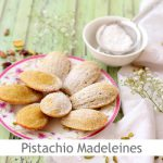 Dimah - http://www.orangeblossomwater.net - Pistachio and Orange Blossom Water Madeleines
