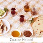 Dimah - http://www.orangeblossomwater.net -zaatar-halabi