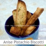 Dimah - http://www.orangeblossomwater.net - Anise Pistachio Biscotti