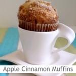 Dimah - http://www.orangeblossomwater.net - Apple Cinnamon Muffins
