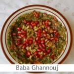 Dimah - http://www.orangeblossomwater.net - Baba Ghannouj