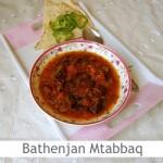 Dimah - http://www.orangeblossomwater.net - Bathenjan Mtabbaq