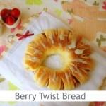 Dimah - http://www.orangeblossomwater.net - Berry Twist Bread