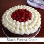 Dimah - http://www.orangeblossomwater.net - Black Forest Cake