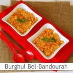 Dimah - http://www.orangeblossomwater.net - Burghul Bel-Bandourah