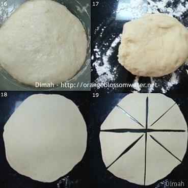 Dimah - http://www.orangeblossomwater.net - Cheese Rolls and Zatar Rolls 5