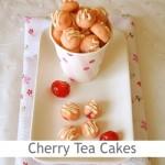 Dimah - http://www.orangeblossomwater.net - Cherry Tea Cakes