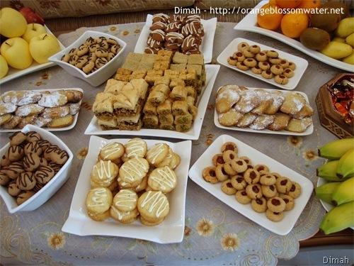 Dimah - http://www.orangeblossomwater.net - Eid Al-Adha, Sweets 1
