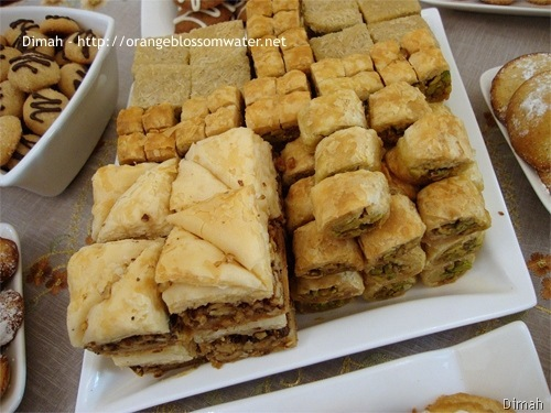 Syrian Sweet Desserts Royalty Free Stock Images - Image: 10804089