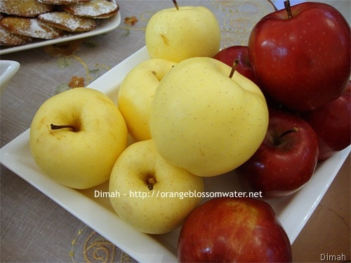 Dimah - http://www.orangeblossomwater.net - Eid Al-Adha, Sweets 99c