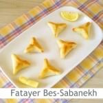 Dimah - http://www.orangeblossomwater.net - Fatayer Bes-Sabanekh
