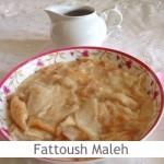 Dimah - http://www.orangeblossomwater.net - Fattoush Maleh