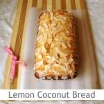 Dimah - http://www.orangeblossomwater.net - Lemon Coconut Bread