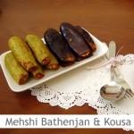 Dimah - http://www.orangeblossomwater.net - Mehshi Al-Bathenjan and Mehshi Al-Kousa