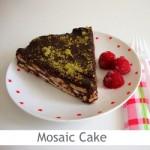 Dimah - http://www.orangeblossomwater.net - Mosaic Cake