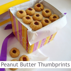 ... ://www.orangeblossomwater.net – Peanut Butter and Jelly Thumbprints