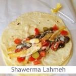 Dimah - http://www.orangeblossomwater.net - Shawerma Lahmeh