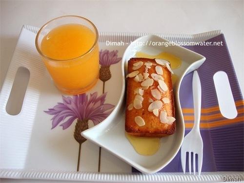 Dimah - http://www.orangeblossomwater.net - Sticky Mandarin Loaves 3