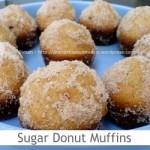 Dimah - http://www.orangeblossomwater.net - Sugar Donut Muffins