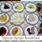 Dimah - http://www.orangeblossomwater.net -Typical Syrian Breakfast