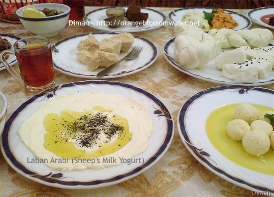 Dimah - http://www.orangeblossomwater.net - Typical Syrian Breakfast 9
