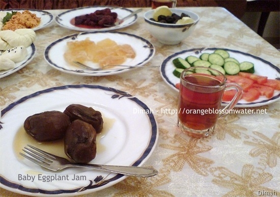 Dimah - http://www.orangeblossomwater.net - Typical Syrian Breakfast 91