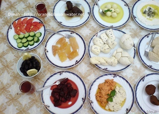 Dimah - http://www.orangeblossomwater.net - Typical Syrian Breakfast 93