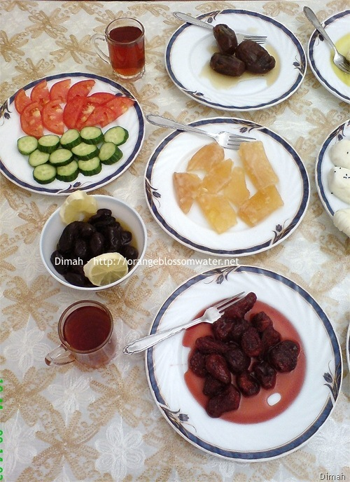 Dimah - http://www.orangeblossomwater.net - Typical Syrian Breakfast 97