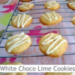 Dimah - http://www.orangeblossomwater.net - White Chocolate Lime Cookies