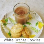 Dimah - http://www.orangeblossomwater.net - White Chocolate Orange Dream Cookies