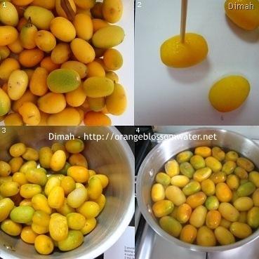 Dimah - http://www.orangeblossomwater.net - Kumquat Preserves 1