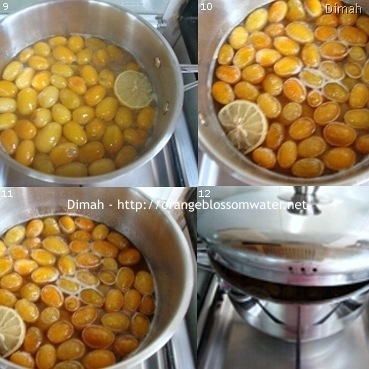 Dimah - http://www.orangeblossomwater.net - Kumquat Preserves 4