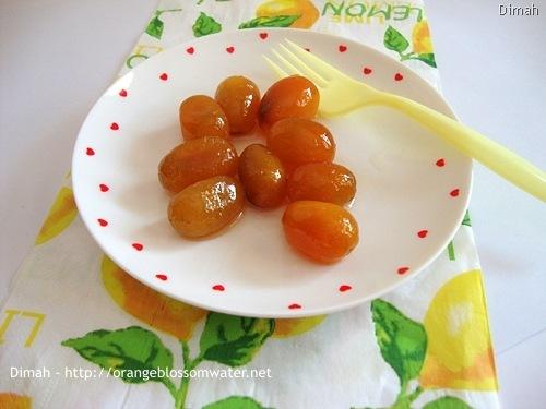 Dimah - http://www.orangeblossomwater.net - Kumquat Preserves 7