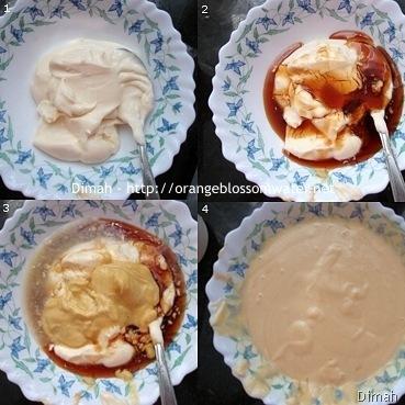 Dimah - http://www.orangeblossomwater.net - Honey Mustard Dipping Sauce 1
